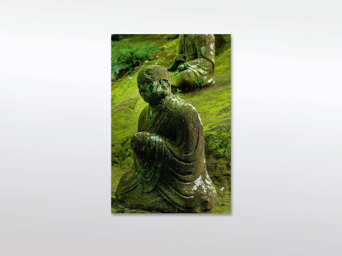 Leinwandbild XXL Buddha