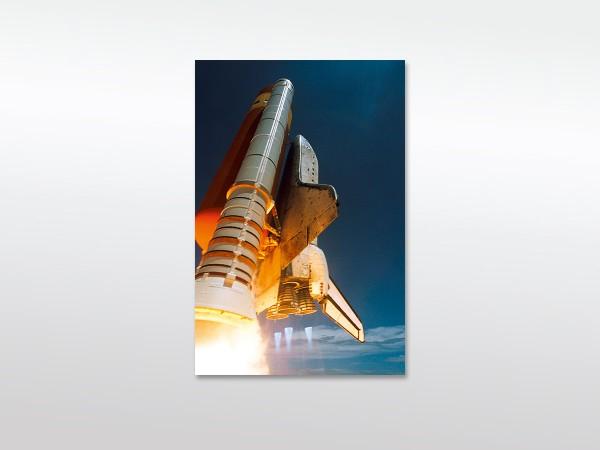 Leinwandbild XXL Space Shuttle - ohne Holzrahmen