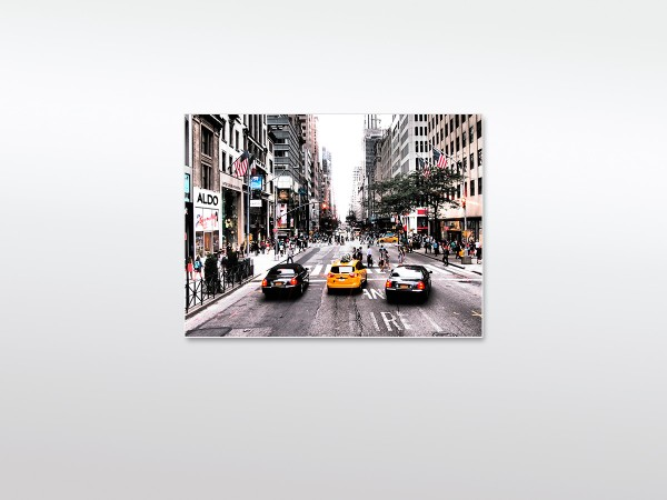Wandbild XXL New York Yellow Cab