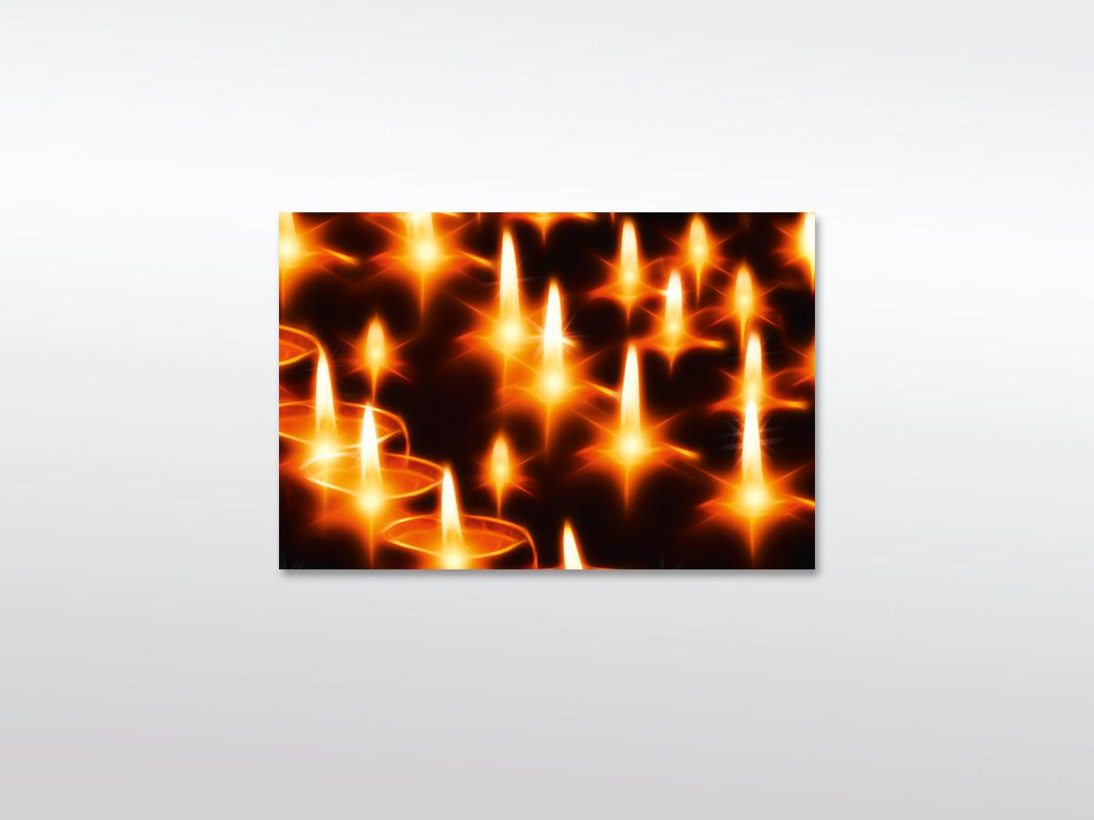 Leinwandbilder Kerzen XXL