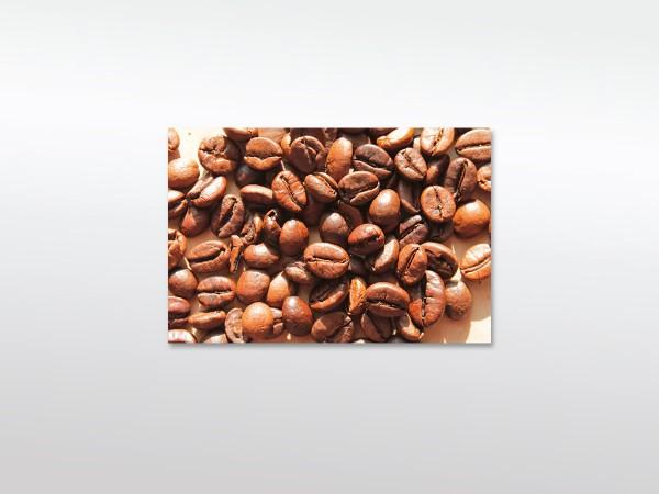 Leinwandbild XXL Große Kaffeebohnen in versch. Formaten